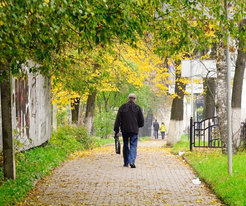 Paesaggio di autunno in Europa fotografie stock