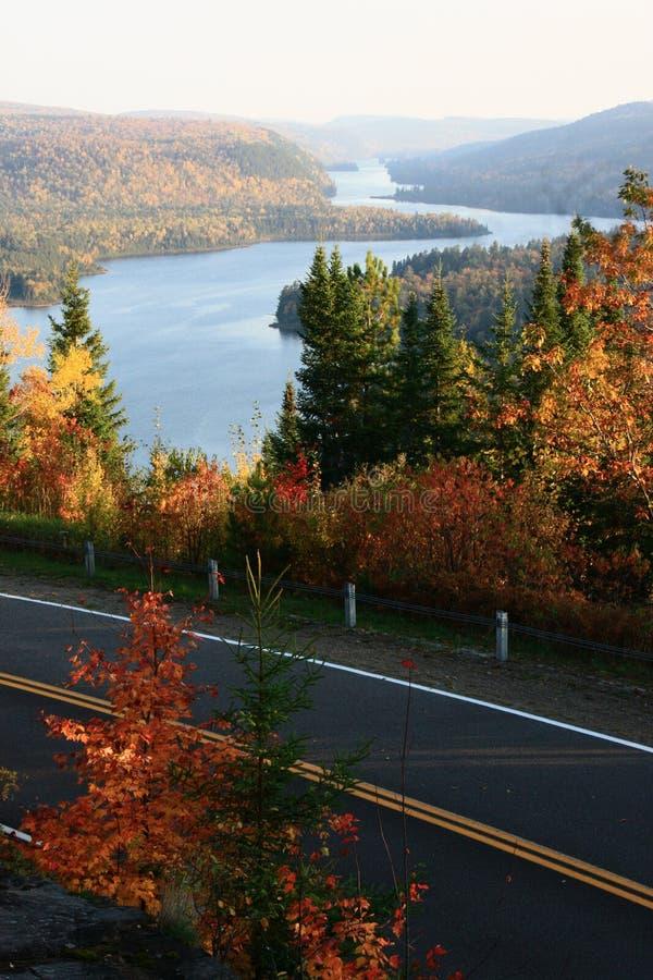 Paesaggio di autunno nel Canada immagini stock