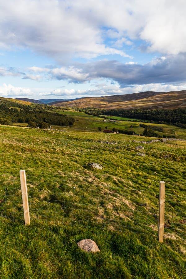 Paesaggio di Cairngorms fotografie stock
