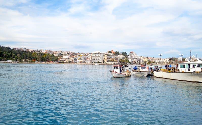 Paesaggio di Calcide Euboea Grecia immagine stock libera da diritti