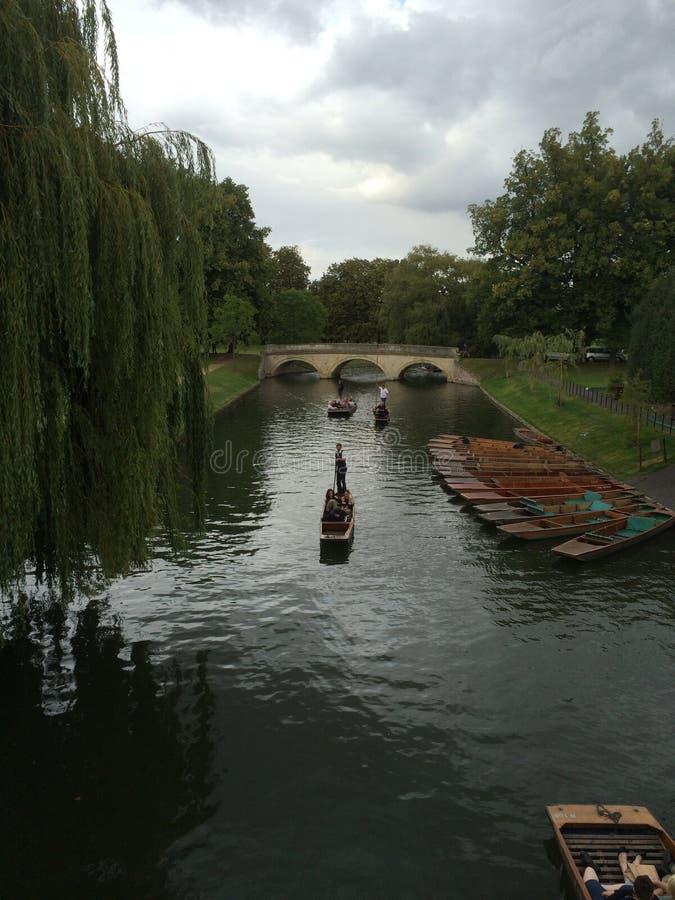 Paesaggio di Cambridge immagini stock libere da diritti