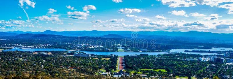 Paesaggio di Canberra fotografia stock