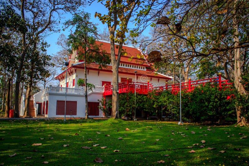 Paesaggio di Chiang Mai University immagini stock