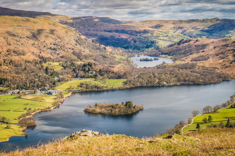 Paesaggio di Cumbrian fotografia stock libera da diritti