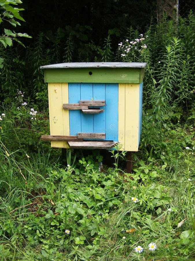 Paesaggio di ESTATE apiary fotografia stock libera da diritti