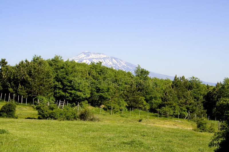 Etna Landscape Immagini Stock Gratis