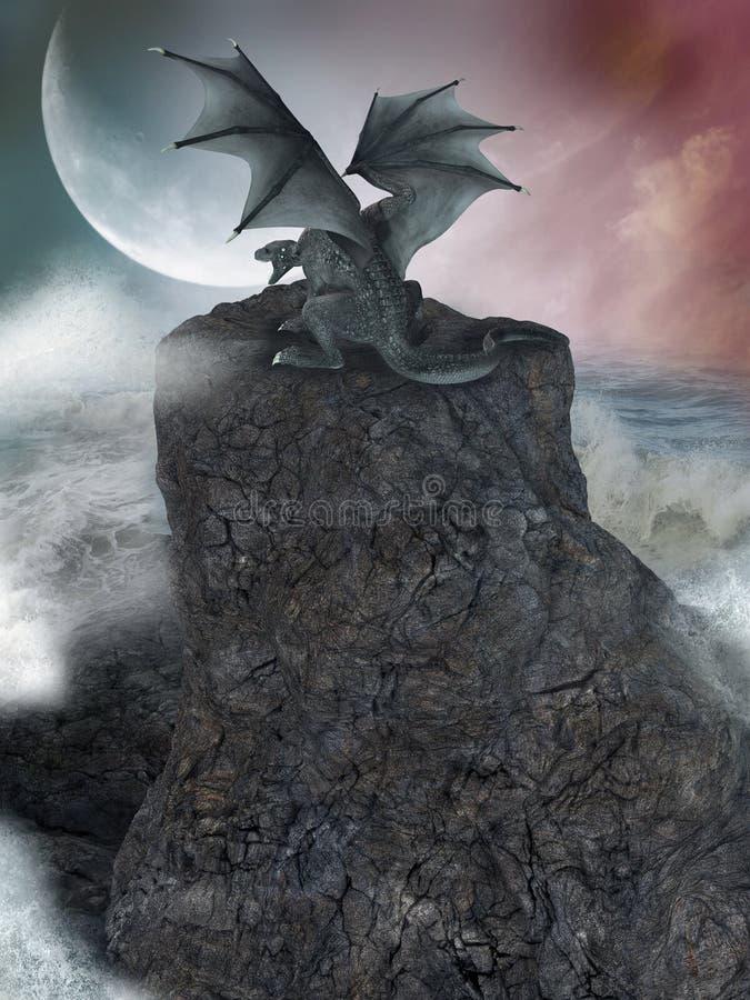 Paesaggio di fantasia royalty illustrazione gratis
