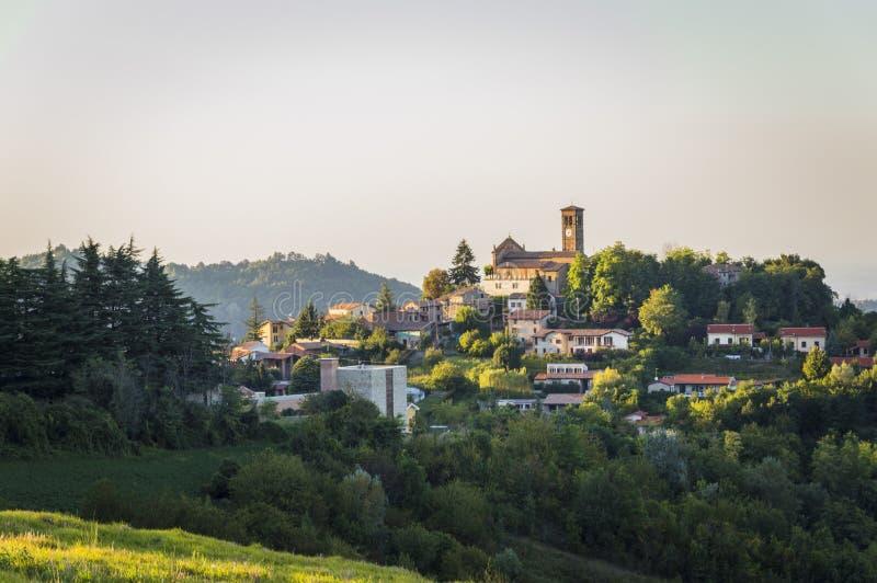 Paesaggio di Fortunago immagine stock libera da diritti