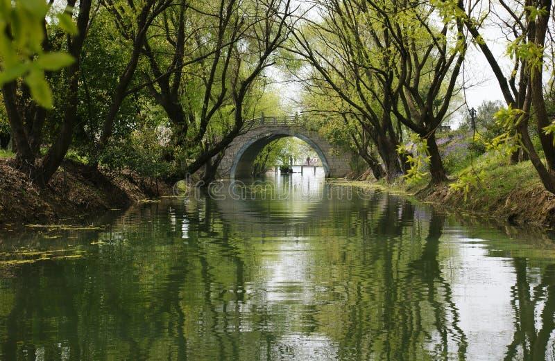 Paesaggio di Hangzhou fotografia stock libera da diritti