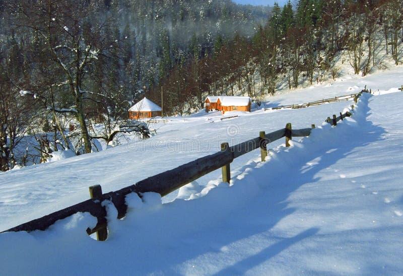 Download Paesaggio di inverno immagine stock. Immagine di colline - 7314111