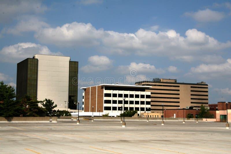 Paesaggio di Kansas City fotografia stock libera da diritti