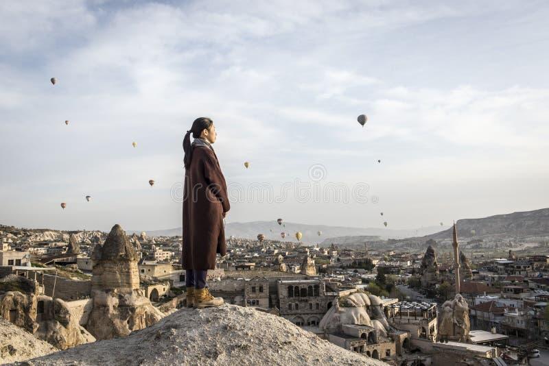 Paesaggio di Korama, Turchia contenuta immagine stock libera da diritti