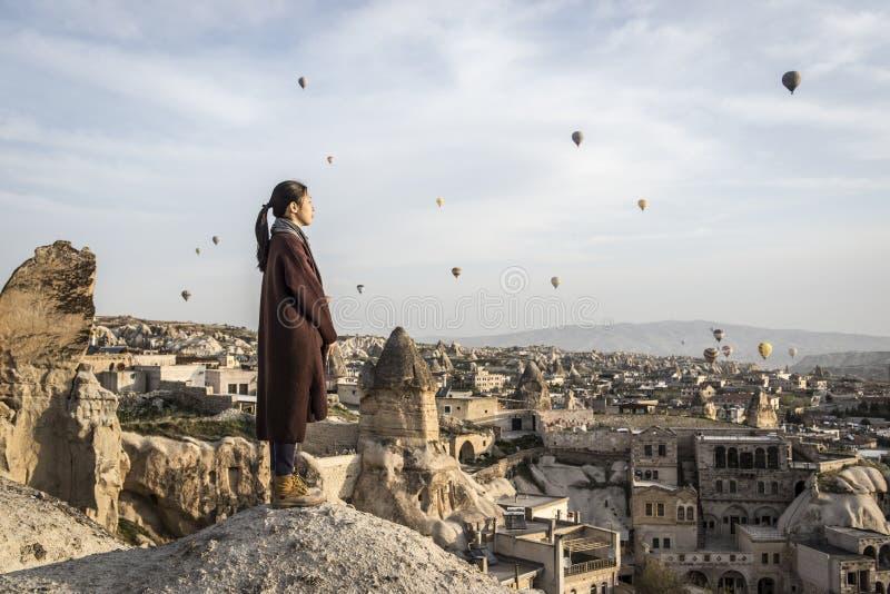 Paesaggio di Korama, Turchia contenuta fotografia stock