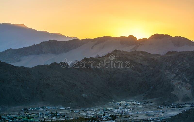 Paesaggio di Leh Lakdh immagine stock libera da diritti