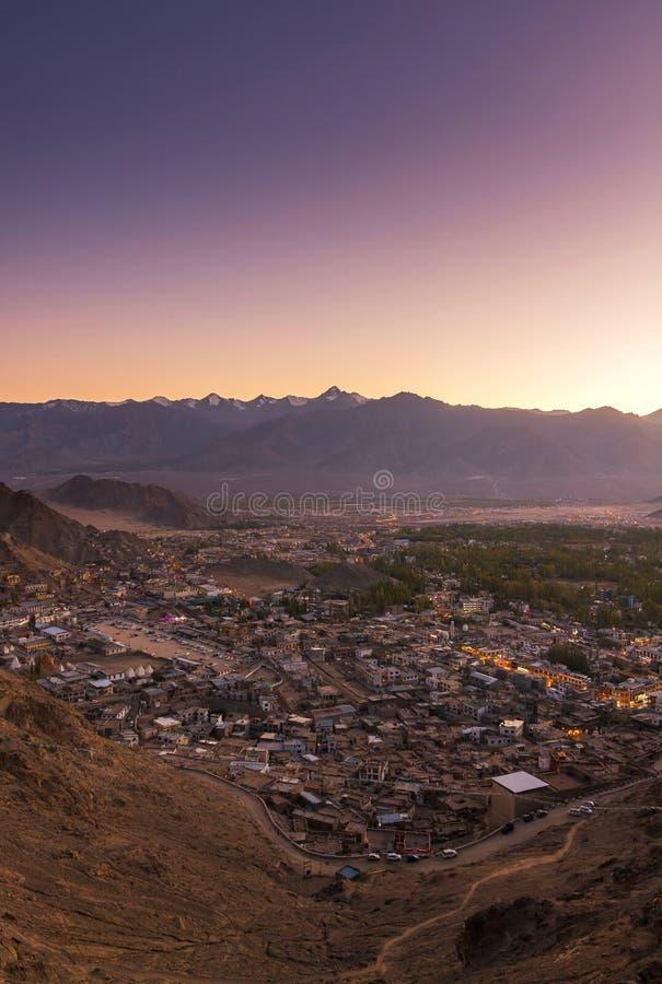 Paesaggio di Leh Lakdh immagini stock