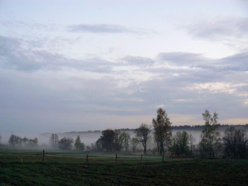 Paesaggio di mattina immagini stock