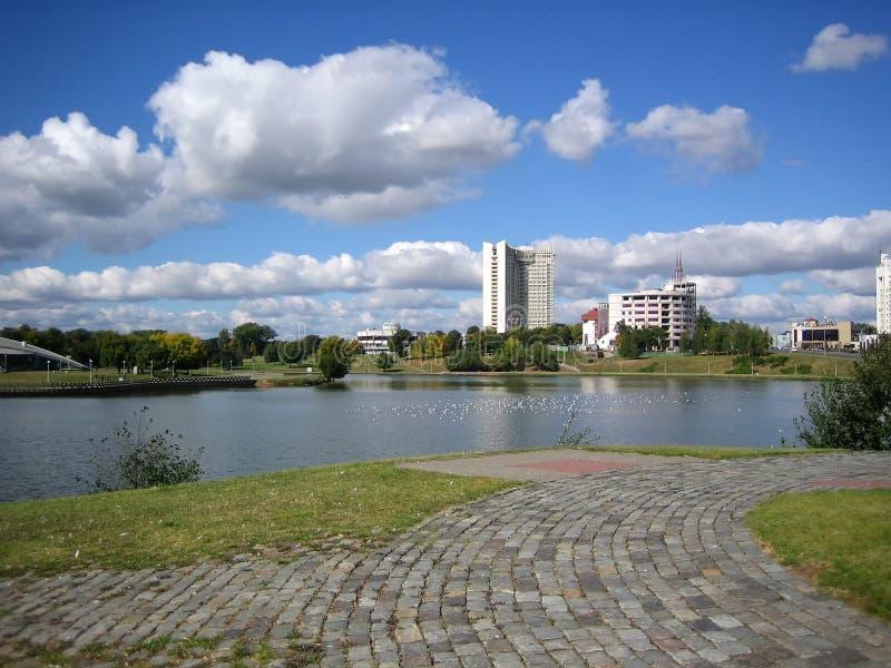 Paesaggio di Minsk immagini stock libere da diritti