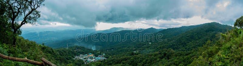 Paesaggio di Mountain View fotografia stock