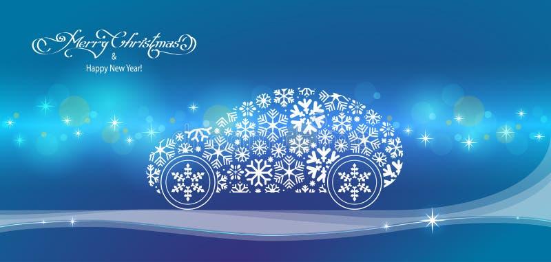 Paesaggio di Natale immagine stock