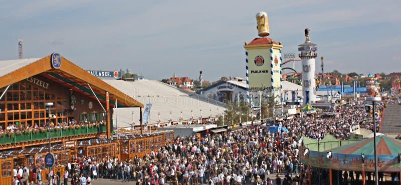 Paesaggio di Oktoberfest immagini stock libere da diritti