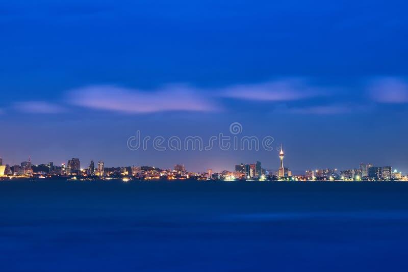 Paesaggio di Pattaya fotografia stock