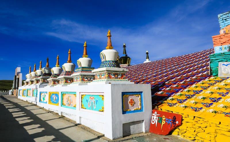 Paesaggio di Qinghai immagine stock