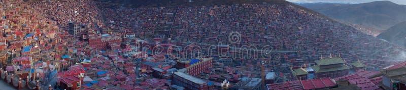 Paesaggio di Sedah in Ganzi, Sichuan, Cina fotografie stock