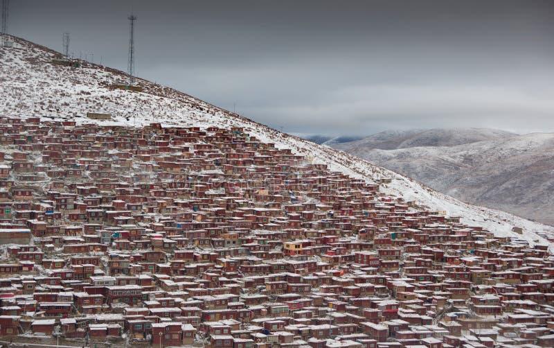 Paesaggio di Sedah in Ganzi, Sichuan, Cina immagine stock