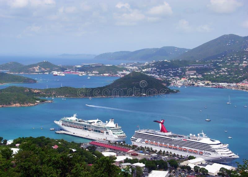 Paesaggio di St.Thomas immagini stock