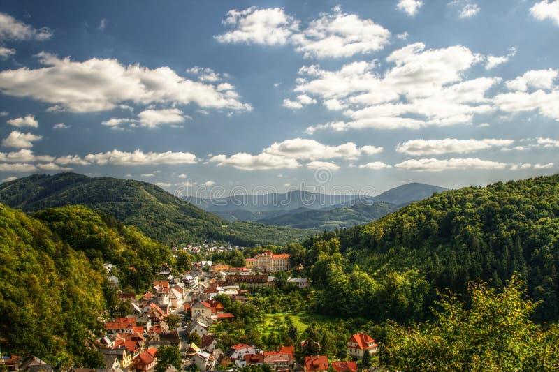 Paesaggio di Stramberk immagine stock