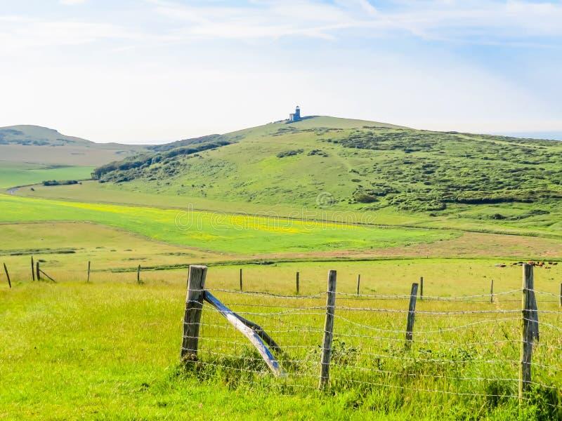 Paesaggio di Sussex orientale, Inghilterra fotografia stock