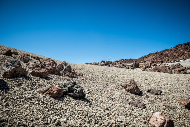 Paesaggio di Tenerife fotografie stock