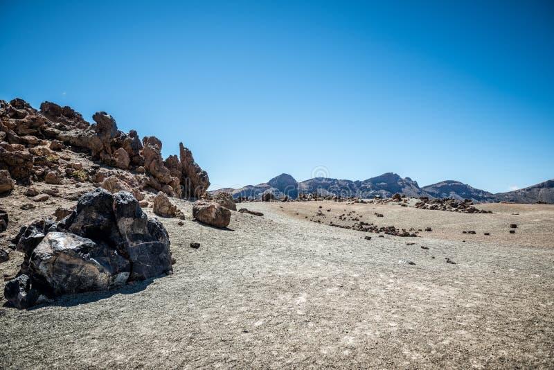 Paesaggio di Tenerife immagine stock