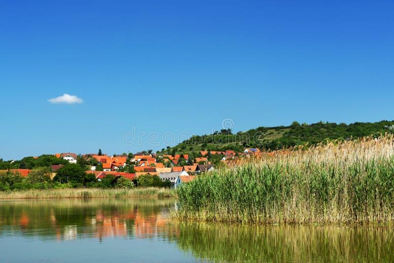 Paesaggio di Tihany al Balaton fotografie stock