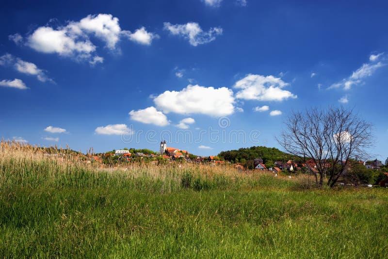 Paesaggio di Tihany al Balaton immagine stock libera da diritti
