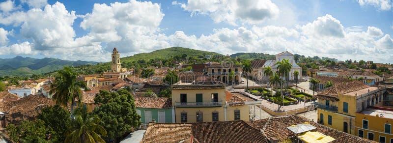 Paesaggio di Trinidad de Cuba fotografia stock