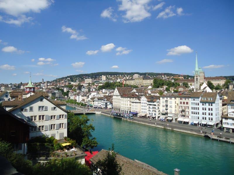 Paesaggio di Zurigo immagine stock libera da diritti