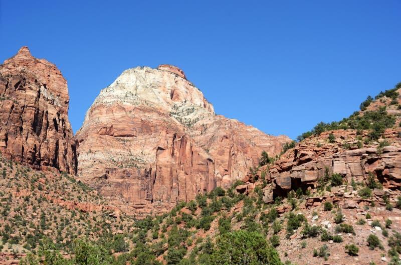 Paesaggio drammatico della montagna fotografie stock libere da diritti