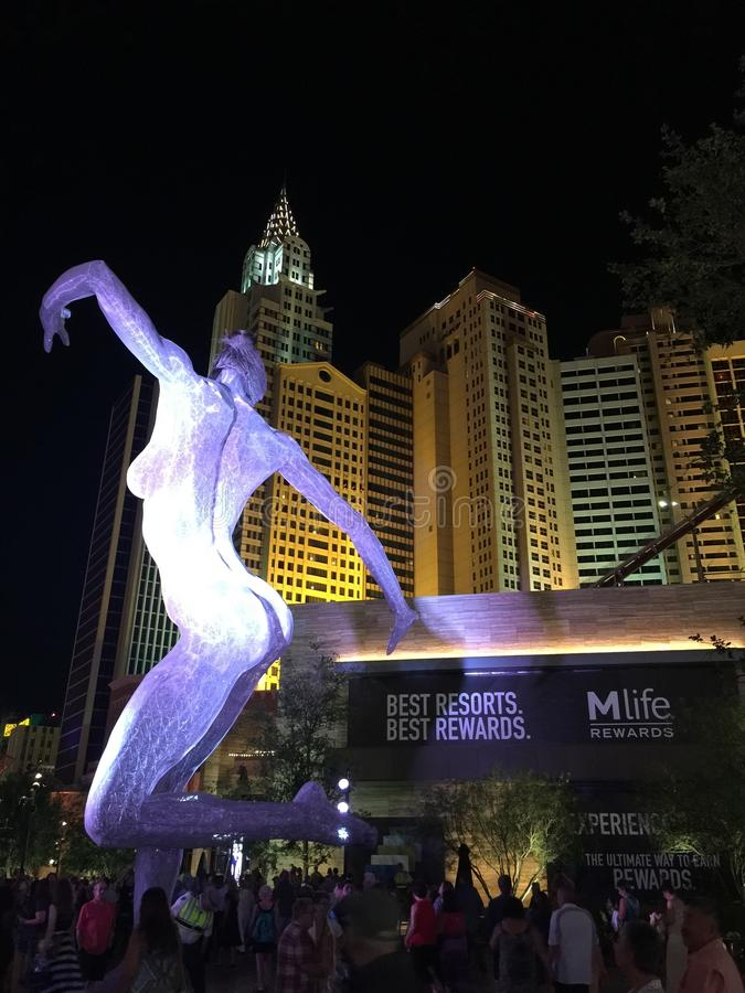 Paesaggio e materiale illustrativo di Las Vegas fotografia stock