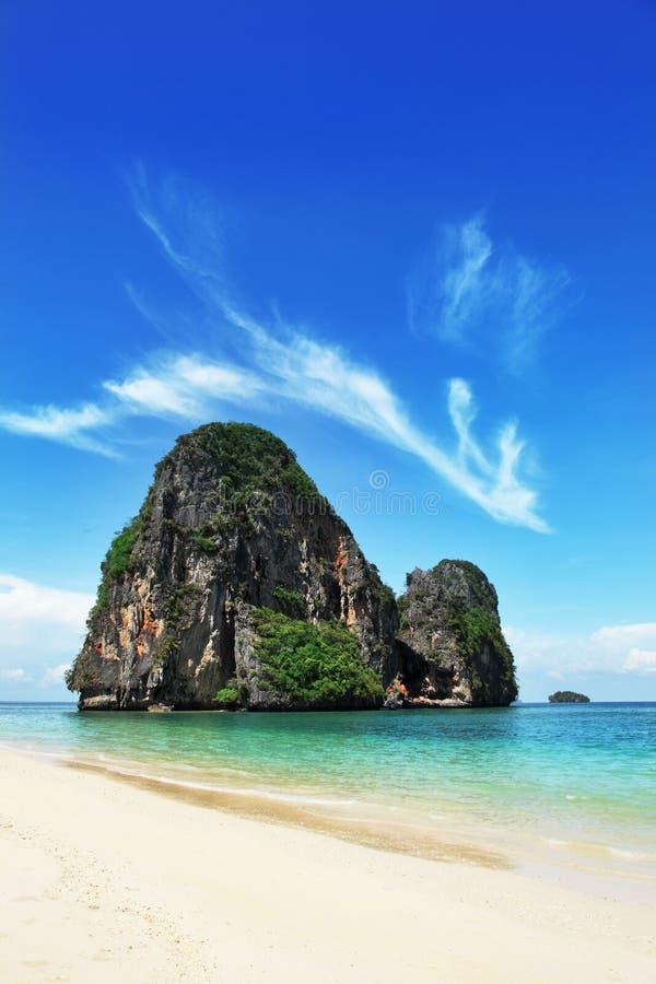 Paesaggio esotico in Tailandia fotografia stock