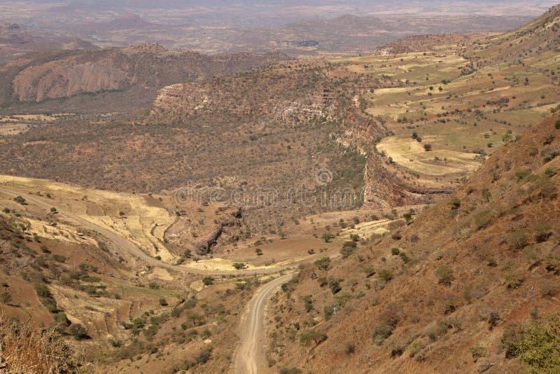 Paesaggio etiopico immagine stock libera da diritti