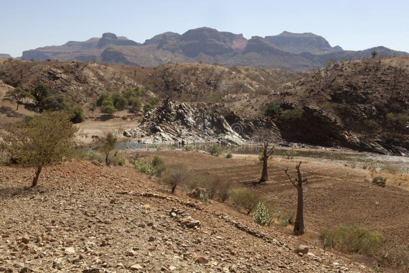 Paesaggio etiopico immagini stock libere da diritti