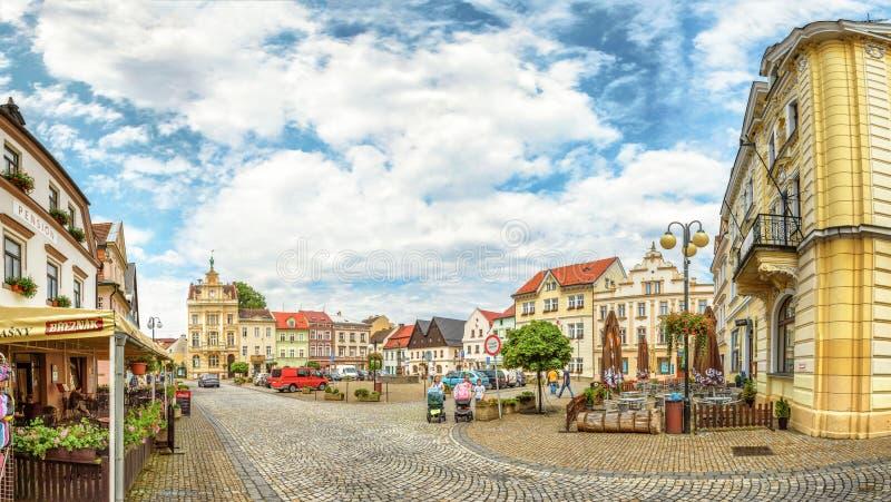 Paesaggio europeo delle costruzioni del centro città fotografia stock libera da diritti