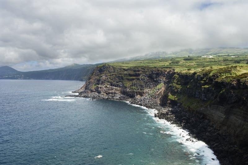 Paesaggio in Faial, Azzorre fotografia stock libera da diritti