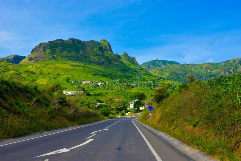 Paesaggio fertile vulcanico di capo verde strada del for Piccola casa di merluzzo del capo