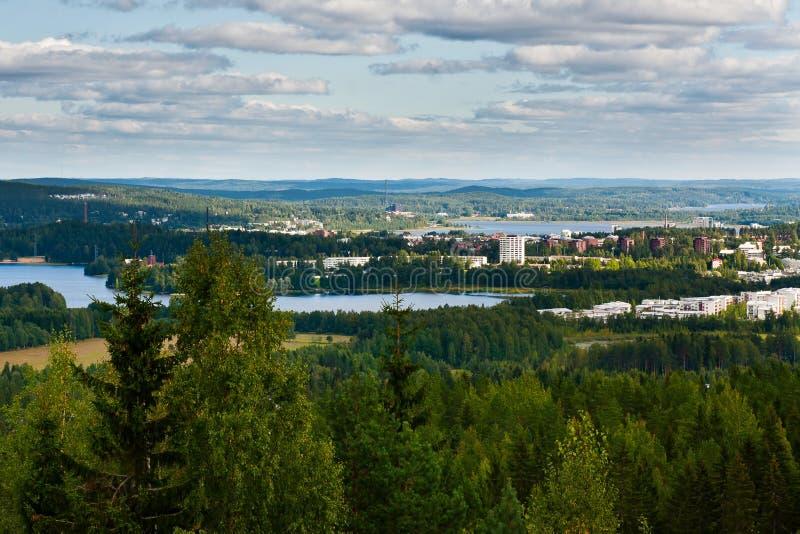 Paesaggio finlandese fotografia stock libera da diritti