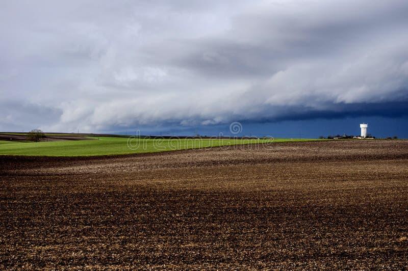 Paesaggio francese fotografia stock
