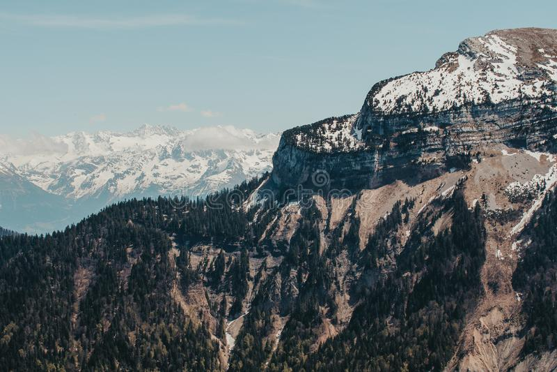 Paesaggio francese - Chartreuse fotografia stock libera da diritti