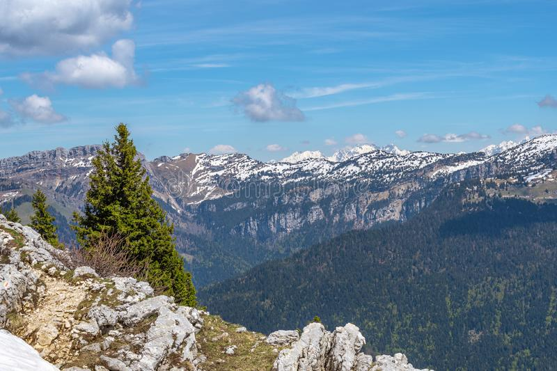 Paesaggio francese - Chartreuse fotografie stock
