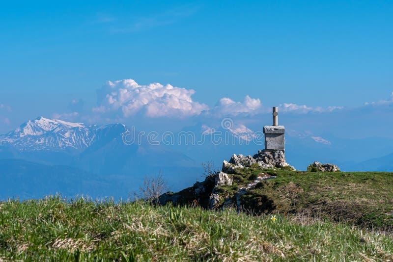 Paesaggio francese - Chartreuse immagini stock
